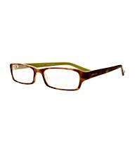 Café Readers® Reading Glasses - Lime Tortoise