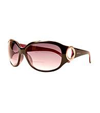 Sun Optics Café Sunglass Readers - Black/Pink