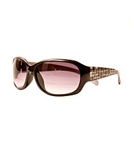 Sun Optics Café Sunglass Readers - Black Geo