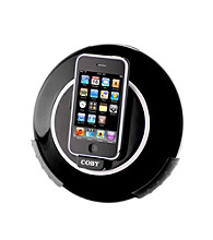 Coby® CSMP105 Fun Digital Speaker System with Docking Station for iPod®