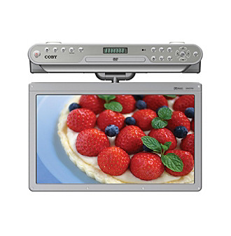 "Coby® 15.6"" Under-Cabinet LCD TV with DVD/CD Player"