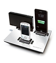 idapt® i4 Universal White Charging Station with 6 Interchangeable Device Tips