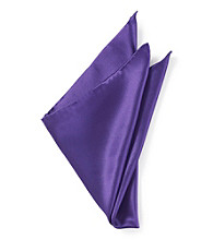 Kenneth Roberts Platinum® Men's Pocket Square - Purple