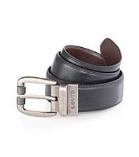 Levi's® Men's Reversible Smooth Belt - Black/Brown