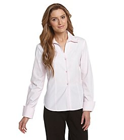 Jones New York Collection® Easy Care Buttonfront Shirt