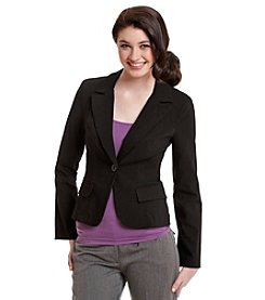 XOXO® One-Button Blazer Jacket