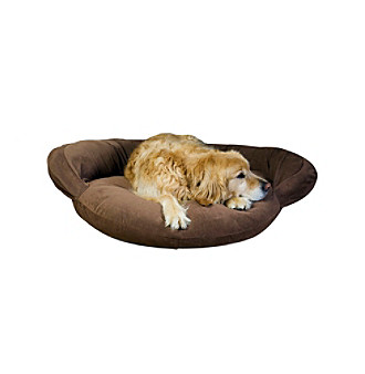 Carolina Pet Company Velvet Microfiber Bolster Pet Bed