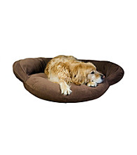 Carolina Pet Company Velvet Microfiber Bolster Pet Bed