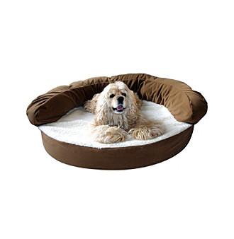 Carolina Pet Company Ortho Sleeper Bolster Pet Bed