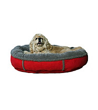 Carolina Pet Company Faux Suede Round Comfy Cup Pet Bed