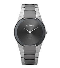 Skagen Denmark Men's Charcoal & Silver Watch