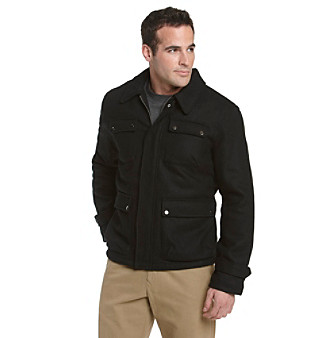 Chaps® Men's 4-Pocket Jacket - Black