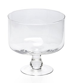 LivingQuarters Clear Glass Trifle Bowl