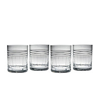 Reed & Barton® Tempo Set of 4 Double Old Fashion Glasses