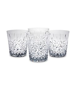 Reed & Barton® Hamilton Set of 4 Double Old Fashion Glasses