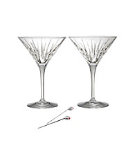 Reed & Barton® Soho Set of 2 Martini Glasses