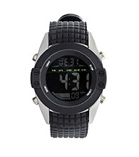 Unlisted by Kenneth Cole® Men's Digital Watch - Black