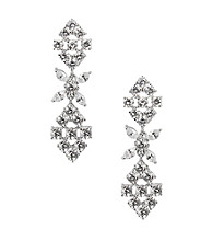 Nina® Ashlyn Genuine Crystal Drop Earrings
