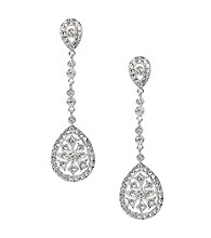 Nina® Maegen Art Deco Chandelier Earrings