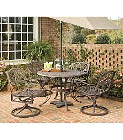 Home Styles® Largo Round Deep Rust Outdoor Dining Furniture Collection