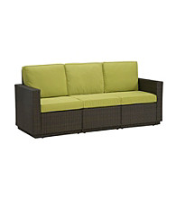 Home Styles® Scottsdale Green Apple Outdoor 3-Seat Sofa