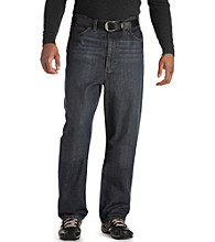 True Nation® Men's Big & Tall Relaxed Fit Jean - Dark Wash