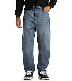 True Nation® Men's Big & Tall Jeans Loose Fit - Medium Blue