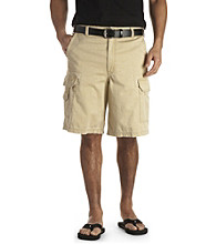 True Nation™ Men's Big & Tall Clean Cargo Shorts