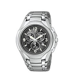 Citizen® Men's Eco-Drive Chronograph Titanium Watch