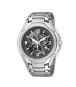 Citizen® Men's Eco-Drive Chronograph Titanium Watch