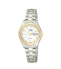 Citizen® Women's Eco-Drive Two-Tone Stainless Steel Watch