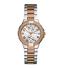 Guess Women's Status In-The-Round Watch - Rose Goldtone