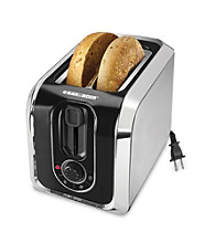 Black & Decker® 2-Slice Stainless Steel Toaster with Retractable Cord
