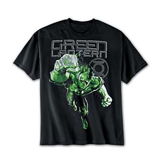 True Nation® Men's Big & Tall DC Comics® Green Lantern™ Paints Screen Tee - Black