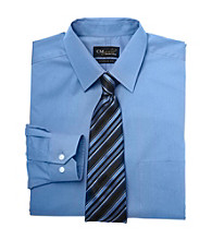 Gold Series™ Men's Big & Tall Wrinkle-Free Cool & Dry Solid Dress Shirt