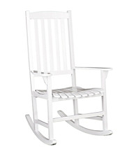 Holly & Martin™ Jameson White Eucalyptus Porch Rocker