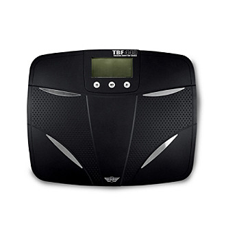 LivingXL Phoenix® Talking Body Fat Scale - Black/Silver