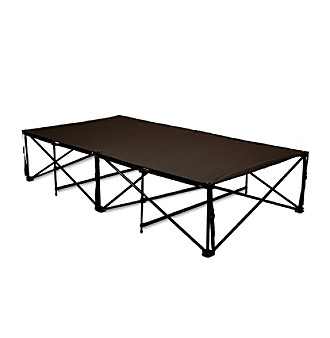 LivingXL Black Heavy-Duty Camp Cot