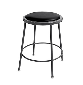 LivingXL Work Stool - Black