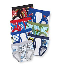 DC Comics Boys' 2T-4T Assorted 7-pk. Super Friends Briefs