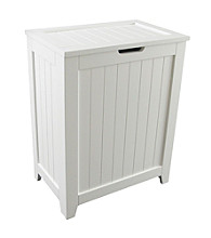 Redmon KD Contemporary Country Hamper - White