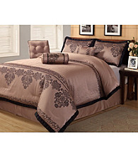 Fontain Purple 7-pc. Comforter Set by Central Park