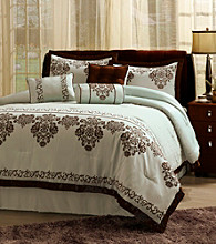 Fontain Blue 7-pc. Comforter Set by Central Park