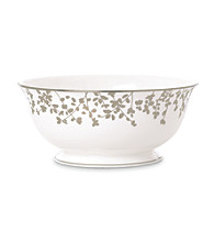 Kate Spade New York® Gardner Street Platinum Serving Bowl