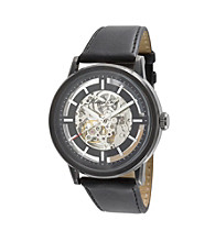 Kenneth Cole New York® Men's Ionic Plated Case Watch - Black