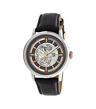 Kenneth Cole New York® Men's Round Case Strap Watch - Brown