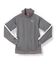 PUMA® Boys' 8-20 Warmup Jacket - Grey