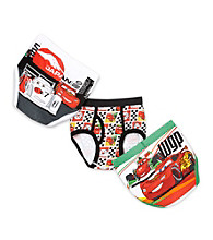 Cars 2 Boys' 2T-4T White/Red 3-pk. Toddler Briefs