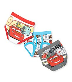 Cars 2 Boys' 4-8 White/Red 3-pk. Briefs