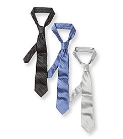 Calvin Klein Boys' Silk Etched Tie